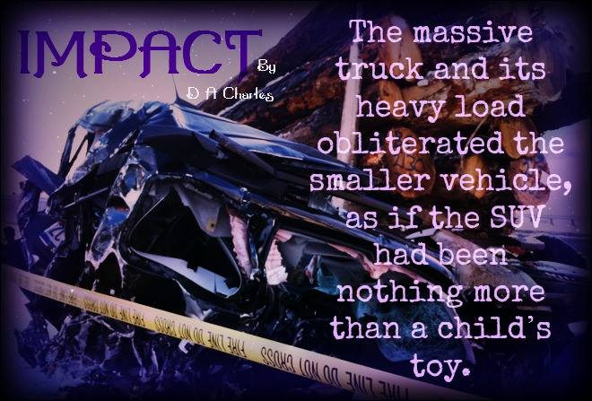 The massive truck and its heavy load obliterated the smaller vehicle, as if the SUV had been nothing more than a child's toy.